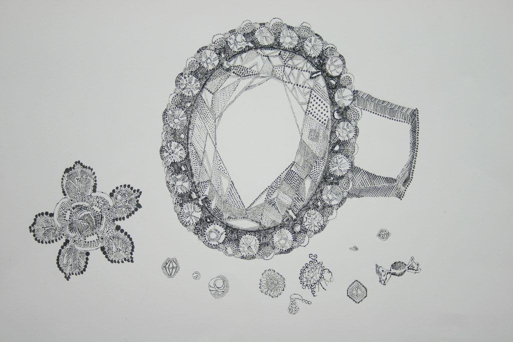 "Ring <br>2012 <br>ink <br>16"" x 20"""